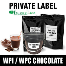 Your own brand Lean Whey Protein Chocolate WPC WPI MPC Blend 10kg