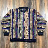 VINTAGE 90's Protege Collection Coogie Style Men's Sweater Sz XL HIP HOP Biggie