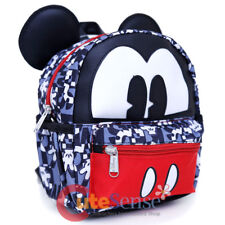 Disney Mickey Mouse Mini Backpack Convertible Messenger Shoulder Cross Bag 8""