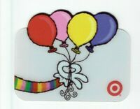 Target Gift Card Die-Cut Translucent Balloons - 2005 - No Value - I Combine Ship