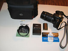Canon EOS 60D 18.0MP Digital SLR Camera With EF-S IS 18-135mm and IS Lens