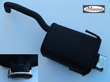 Exhaust Rear Silencer Muffler FIAT 500 1.4  1.3 Multijet Letterbox Sport Tuning
