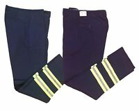 Reflective Hi Vis Industrial Work Pants Cotton Enhanced Visibility Safety NEW!