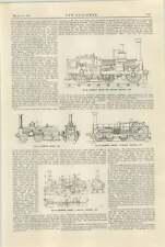 1925 Crampton Engine Midland Railway Lnw