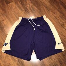 Nike Washington Huskies Basketball Team Practice Issue Player jersey Shorts Xl