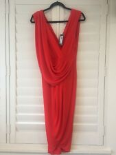 NYE Dress!!! New RRP $139 SHIEKE 'Macey Dress' Red Size 10