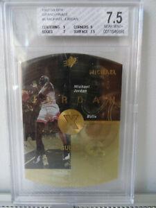 MICHAEL JORDAN 1997-98 SPX GRAND FINALE #6 - 39 of 50 - BGS 7.5 GRADING $$$$$$$$