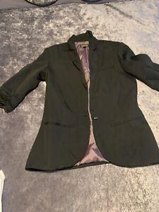 Top Shop Womans Black Blazer Size 8