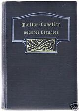 Meisternovellen neuerer Erzähler, um 1905