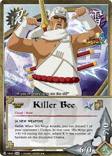 1x FOIL Killer Bee 1643 S28 Rare Naruto CCG TCG NM/M