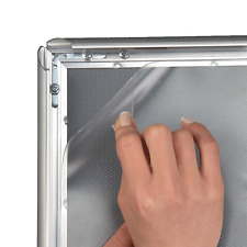 Antireflex UV Schutz FOLIE Klapprahmen Kundenstopper A1