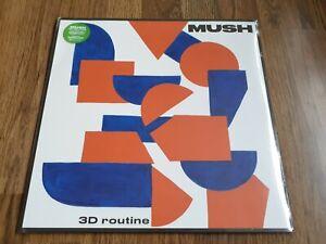 MUSH - 3D ROUTINE 180g LP TRANSPARENT SLIME GREEN VINYL LTD ED NEW SEALED