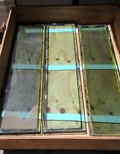 """LOT of 9 Bullet Proof Glass 12"""" x 47"""" x 1-1/2"""" Level 3"""
