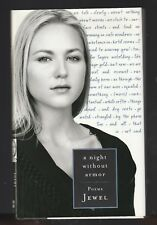 A Night Without Armor by Jewel Kilcher (1998, Hardcover), Signed 1st Bookplate