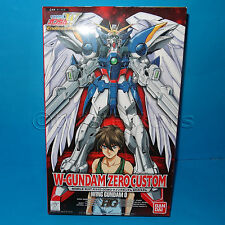 BANDAI W-GUNDAM ZERO CUSTOM ENDLESS WALTZ XXXG-00W0 WING 0 1/100 SCALE BOXED