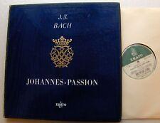 BACH Johannes Passion WERNER/ALAIN - FRENCH MONO 2LP Boxset ERATO LDE 3176/3177