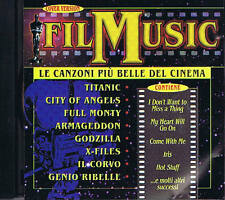 FILM MUSIC Titanic Godzilla Corvo Armageddon X Files CD