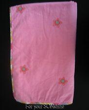 Pottery Barn blanket baby girl Kids PBK outlet pink flowers  stars