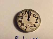 3 Waltham 6/0 size watch movements for parts repair