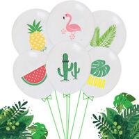 10Pcs/set Latex Balloons Birthday Party Hawaiian Theme Party Home Decor Gift