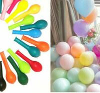 "100 X 5"" Pastel Colour & Plain Mix Small Balloons Decorative Event Show Balloon"