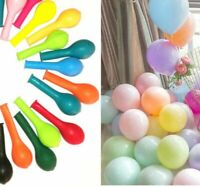 "100 X 5"" Pastel Colour & Plain Mix Small Balloons Decorative Event Show Balloon"
