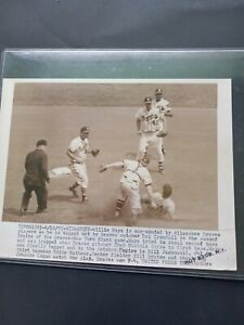 1955 WILLIE MAYS UNITED PRESS PHOTO