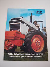 Case '80 Tractor Buyer's Guide Brochure 2390 2590 4WD 4490 4690 4890+ 24 pg MINT