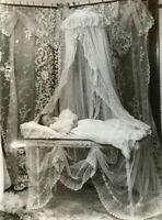 Antique Post Mortem Funeral Photo 101b Odd Strange & Bizarre