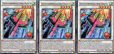 Yu-Gi-Oh! 3x Hochgeschwindigkeitsroid Hagoita  BOSH-DE049  1.Auflage