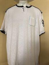 NIP 3X//4X//5X BIG Men Henley Shirt L//S KING SIZE Sweatshirt Heavy Everglade Green