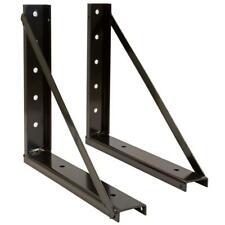 Underbody Heavy Gauge Steel Tool Box Bracket Kit Mounting Automotive Cargo Tools