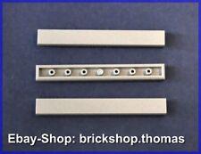 Lego 3 x Fliesen grau (1 x 8) - 4162 - Tile Light Bluish Gray - NEU / NEW