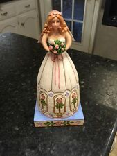 """From This Day Forward� Bride Figurine – Jim Shore Heartwood Creek 4007235"