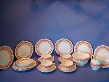 ANTIQUE AYNSLEY TEA SET, CIRCA 1903, RD 407101, 21 PIECES, PATTERN 13412?