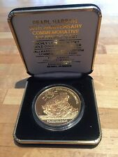Pearl Harbor 50th Anniversary coin #8,429 of 10,000 minted w/box FREE SHIPPING