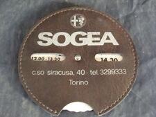 Disco orario Alfa Romeo Concessionaria Sogea