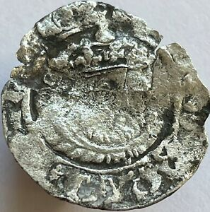 1544-47 Henry VIII (8th) Silver Halfgroat Canterbury Mint