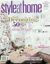 Style At Home Nov 2016 Get Decorating 50 Ideas Shine Bright FREE SHIPPING sb