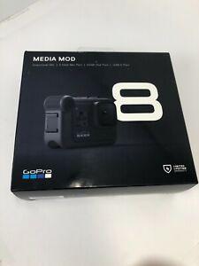 Genuine GoPro Media Mod for HERO8 Black: Directional Mic, HDMI Out, USB-C Port