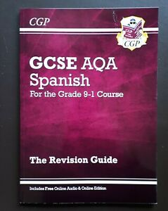 GCSE Spanish AQA Revision Guide - for the Grade 9-1 Course by CGP Books