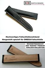 - BOB MARINO Handmade NYTECH FS-BAND Kompatibel mit Omegafaltschließe 22-18mm