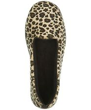 Dearfoams Women's Rebecca Leopard Print Velour Closed Back Slipper