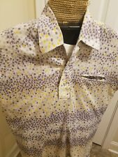 Vintage 1960s 70s Lancer of California Club Shirt Polyester