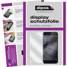 2x Gigaset ME Pro Schutzfolie klar Displayschutzfolie Folie dipos Displayfolie