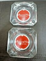 Two (2) Vintage Harrah's Reno & Lake Tahoe Casinos Las Vegas NV Ashtrays