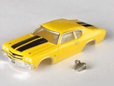 New Thunderjet 1970 Chevelle SS Tjet HO Slot Car Body Fit Aurora & Dash Chassis