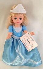 "Doll 5"" Blond Princess in Blue Marked Alexander"