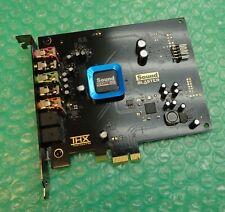 More details for creative sound blaster sb1350 recond3d thx 5.1 pce-e sound / audio card