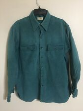 Vintage LL Bean Freeport Maine Chamois Cloth L/S Button Down Shirt - Men's 16.5